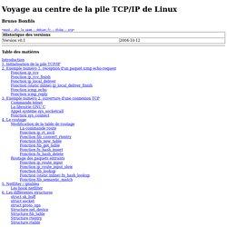 Voyage au centre de la pile TCP/IP de Linux
