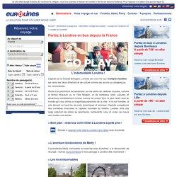 Voyage pas cher vers Londres en bus Eurolines