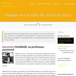 Voyage vers la salle de classe du futur – Master Infocom