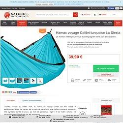 Hamac voyage Colibri turquoise La Siesta