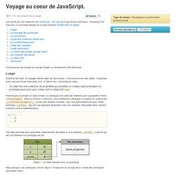 Voyage au coeur de JavaScript (ECMAScript 3)