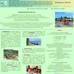 Voyage à Madagascar Côte Est avec le Cevied