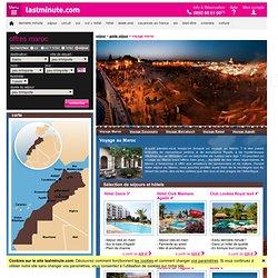 Voyage au Maroc - séjour Maroc pas Cher avec lastminute