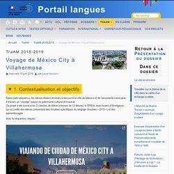 Voyage de México City à Villahermosa