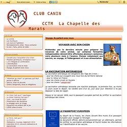 Voyage, ils partent avec nous - Club canin CCTM La Chapelle des Marais