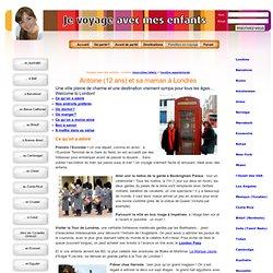 Voyage et séjour avec enfants - Londres