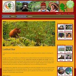 Un site utilisant LatitudSur