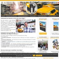 Les Bons Plans pour un voyage à New YorkComment je réussis à vivre de mon blog ?