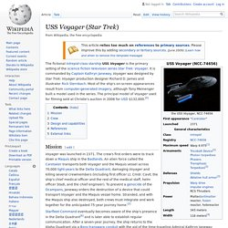 USS Voyager (Star Trek) - Wikipedia