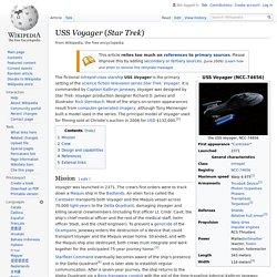 USS Voyager (Star Trek) - Wikipedia
