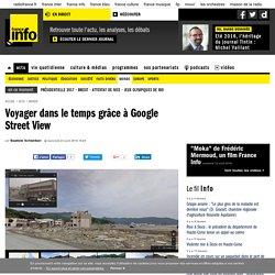 Voyager dans le temps grâce à Google Street View