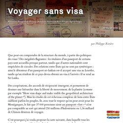 Voyager sans visa