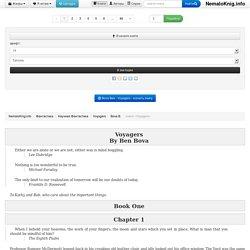 Voyagers - Bova Ben - чтение книги бесплатно