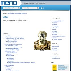 MEMO - Le site de l'Histoire