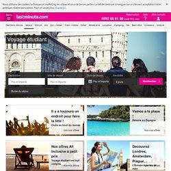 Voyages et séjours pour étudiants pas cher - lastminute.com