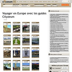 Voyages en Europe, la collection des guides 2013