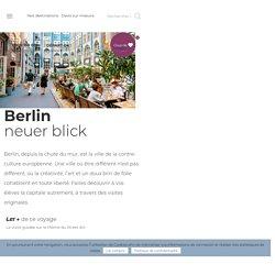 Berlin neuer blick - Cahier de voyages : Voyages scolaires éducatifs