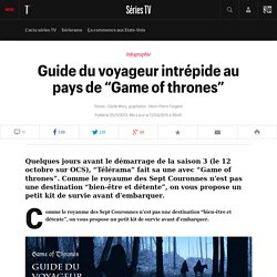 "Guide du voyageur intrépide au pays de ""Game of thrones"""