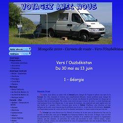 Voyagez avec nous - Mongolie 2010 - Carnets de route - Vers l'Ouzbékistan