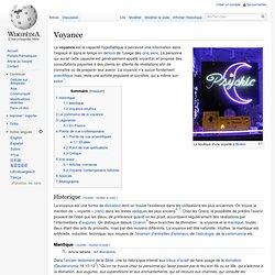 Voyance/ Wikipedia
