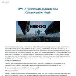 VPN HBO