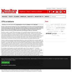 VPN za telebane | Monitor