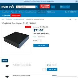 Order Now VPos EC410 Cash Drawer 5N 8C 24V BLK at Genuine Prices