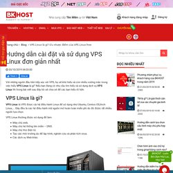 VPS Linux là gì? Ưu nhược điểm của VPS Linux free