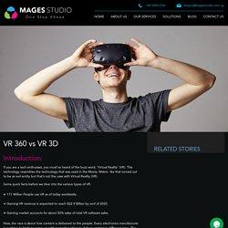 360 Virtual Reality versus 3 Dimensional Virtual Reality