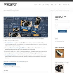 Become a VR Cover Affiliate