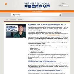 Vrachtwagenrijbewijs C halen? Neem vrachtwagenrijles bij Verkeersschool Voskamp! Bijvoorbeeld in Zutphen, Voorst of Vorden - Verkeersschool Voskamp