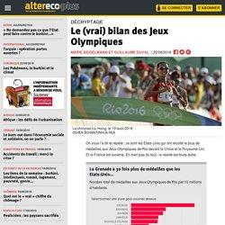Le (vrai) bilan des Jeux Olympiques