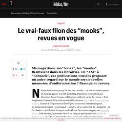 """Le vrai-faux filon des """"mooks"""", revues en vogue - L'actu Médias / Net"""