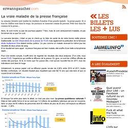 La vraie maladie de la presse française