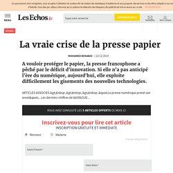 La vraie crise de la presse papier , Le Cercle