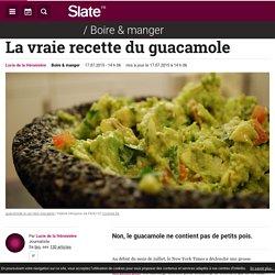 La vraie recette du guacamole