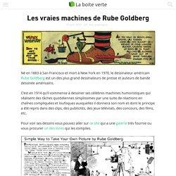 Les vraies machines de Rube Goldberg
