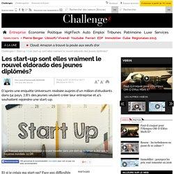 Les start-up sont elles vraiment le nouvel eldorado des jeunes diplômés?