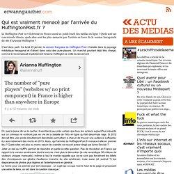 Qui est vraiment menacé par l'arrivée du HuffingtonPost.fr ?