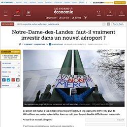 Notre-Dame-des-Landes: faut-il vraiment investir dans un nouvel aéroport ?
