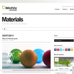 Vray 2.0 materials guide