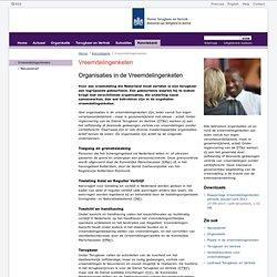 Organisaties in de Vreemdelingenketen