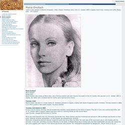 Vril Society Maria Orsitsch