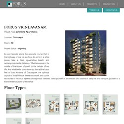FORUS Vrindavanam - Life Style Apartments in Guruvayur - 3 BHK Apartments in Guruvayur