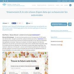Vroomvroom.fr, le site à base d'open data qui va bousculer les auto-écoles