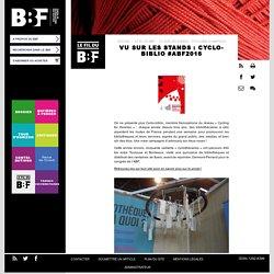 Vu sur les stands : Cyclo-biblio #abf2016
