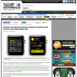 Vueling launches new Apple Watch app