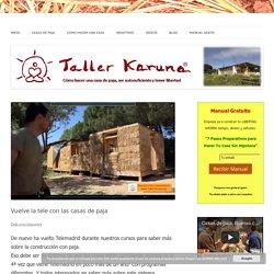 Vuelve la tele con las casas de paja - Taller Karuna Casa de Paja
