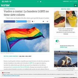 Vuelve a contar: La bandera LGBTI no tiene siete colores
