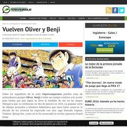 Vuelven Oliver y Benji para los Juegos Olímpicos de Río de Janeiro 2016